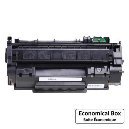 Compatible HP 49A Q5949A Black Toner Cartridge - Economical Box