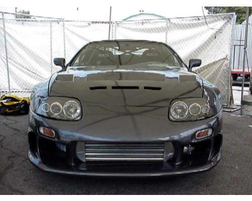 Advan Carbon BKTS93-AC890HCTS TS Design Carbon Fiber Hood Toyota Supra MK-IV 1993-1998