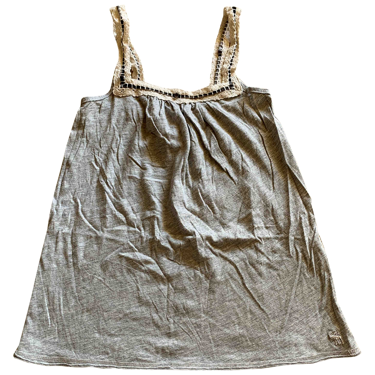 Abercrombie & Fitch \N Grey Cotton  top for Women XS International