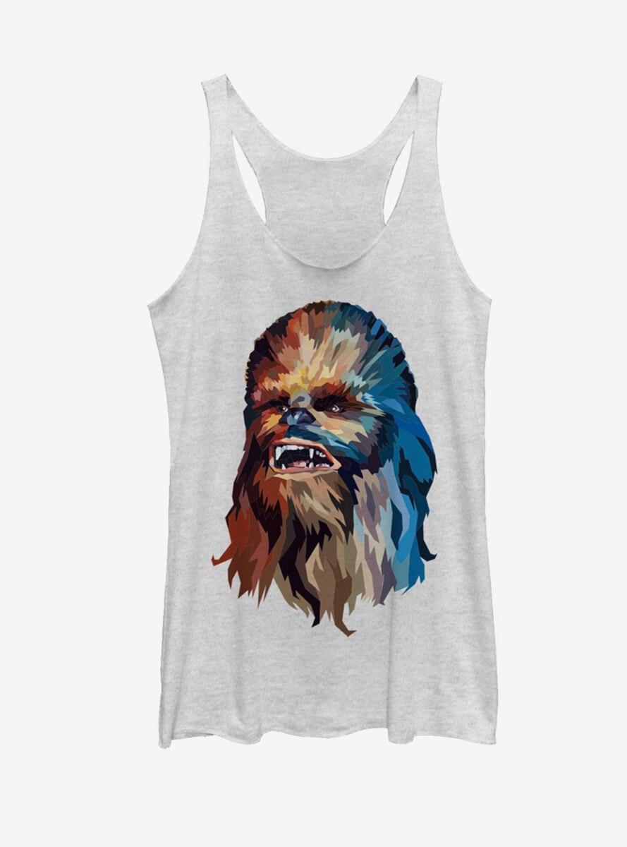 Star Wars Chewbacca Art Womens Tank