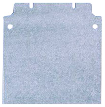 Rittal Mounting Plate 125 x 285 x 2mm for use with 1501.510, 1515.510, 1522.010, 1530.510