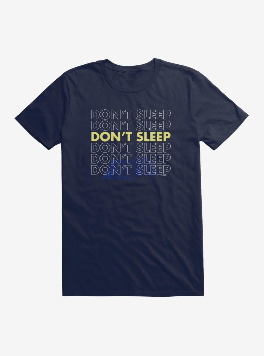 Peanuts Snoopy Don't Sleep T-Shirt
