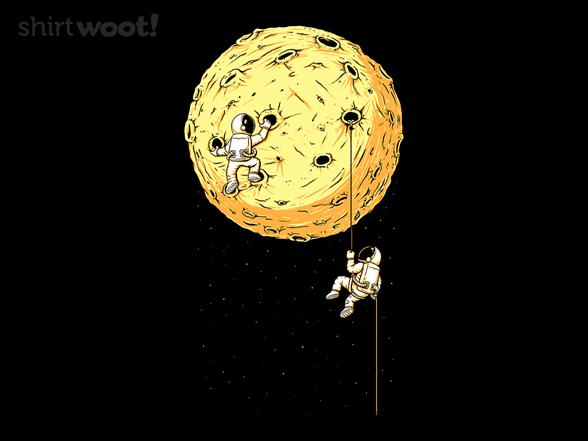 Moon Climbing T Shirt