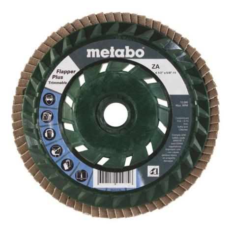 Metabo 4 1/2 In. Flapper Plus 80 5/8 In.-11 T29 Trimmable (Pb)