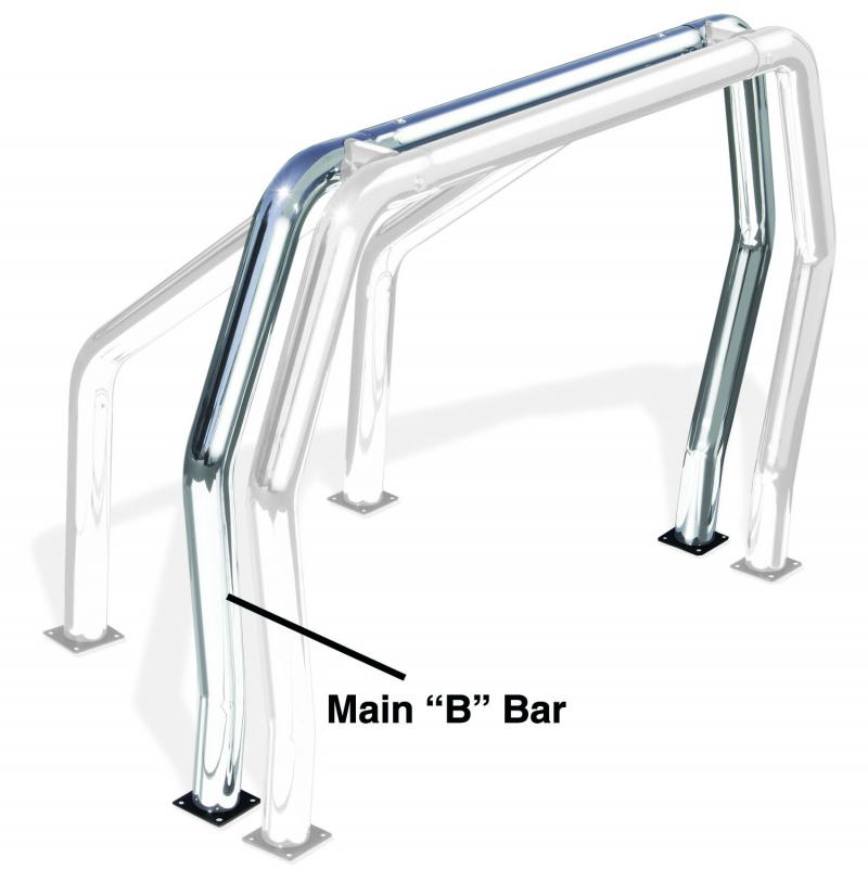 Go Rhino 91002PS! Bed Bars - B Main Bar