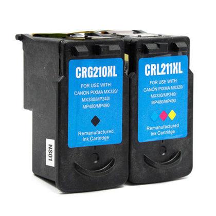 Compatible Canon PIXMA MX340 Ink Cartridges Black & Colour Combo, High Yield
