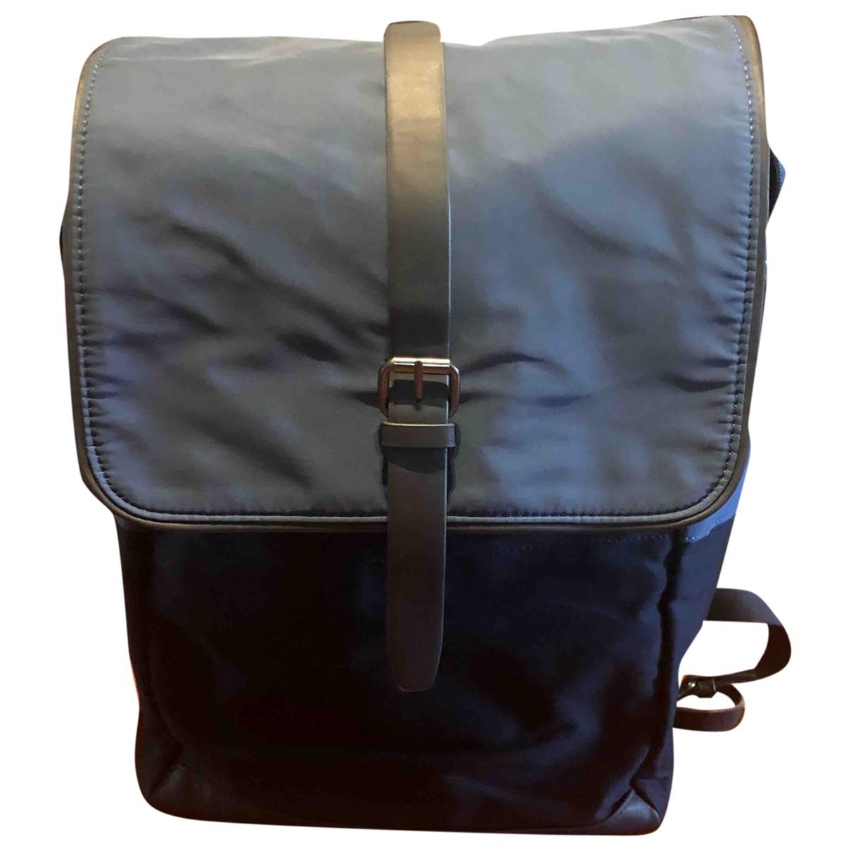 Zara \N Navy Cloth bag for Men \N