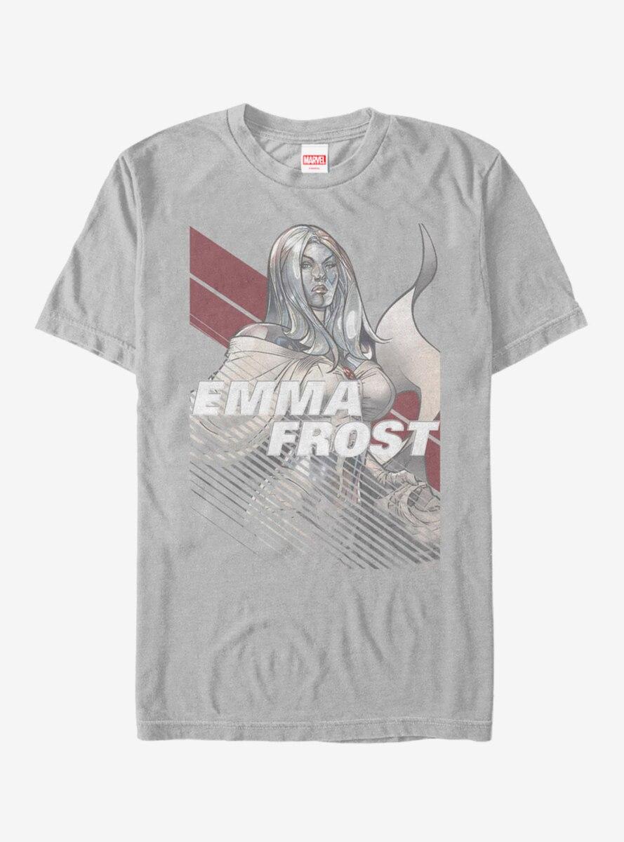 Marvel X-Men Emma Frost Stripe T-Shirt