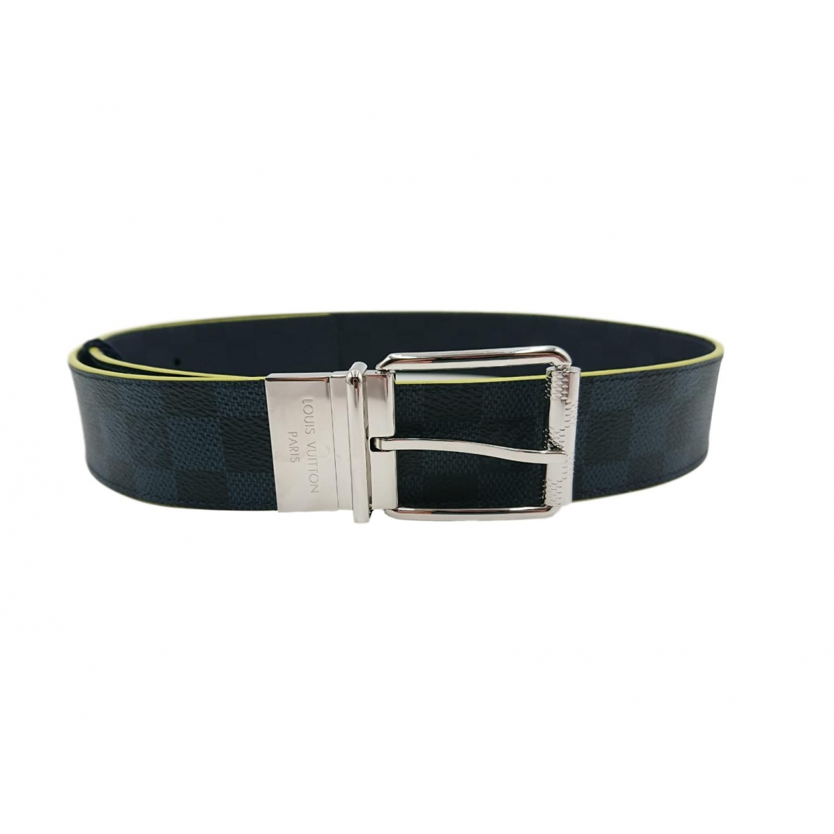 Louis Vuitton \N Navy Cloth belt for Men 90 cm