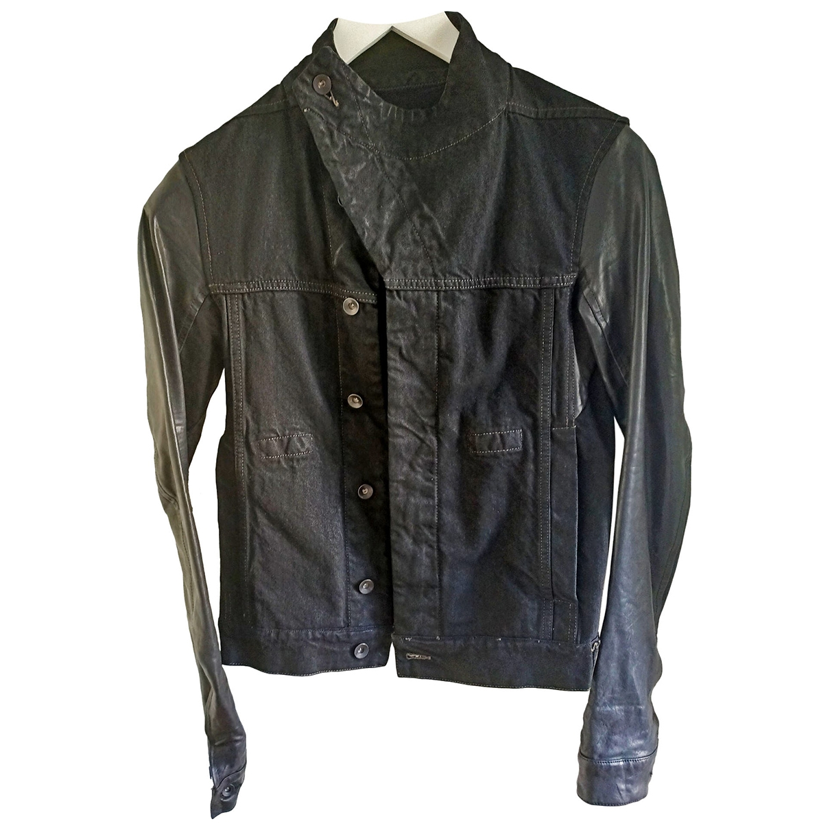 Rick Owens Drkshdw \N Black Denim - Jeans jacket  for Men XS International