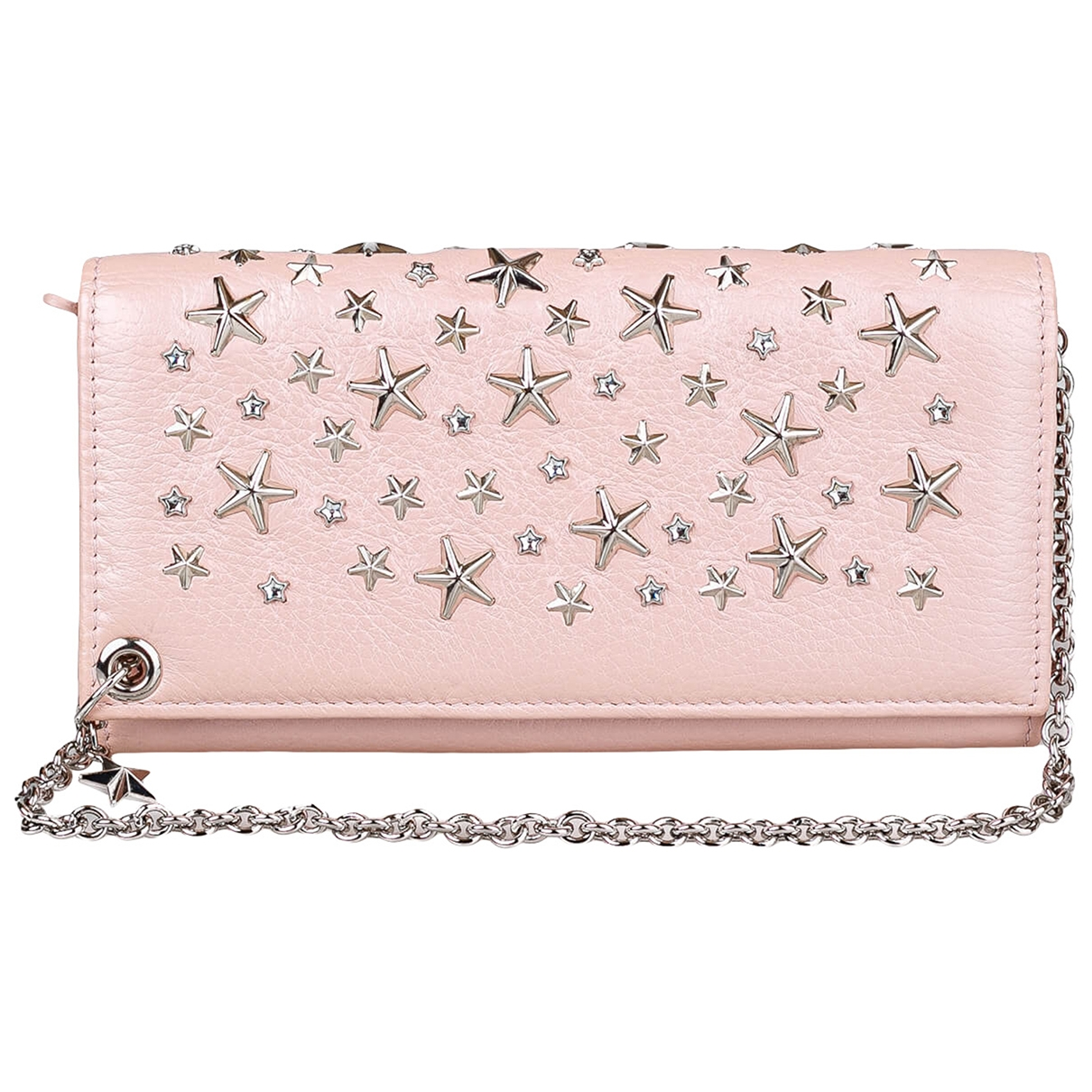 Jimmy Choo \N Pink Leather Clutch bag for Women \N