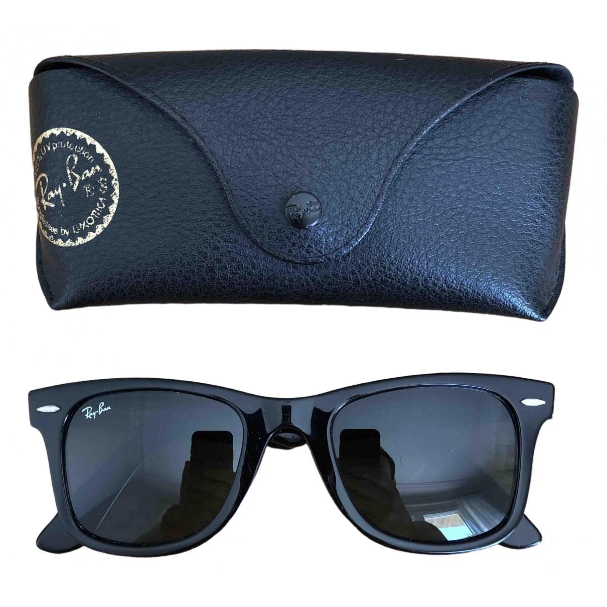 Ray-ban Original Wayfarer Black Sunglasses for Men \N