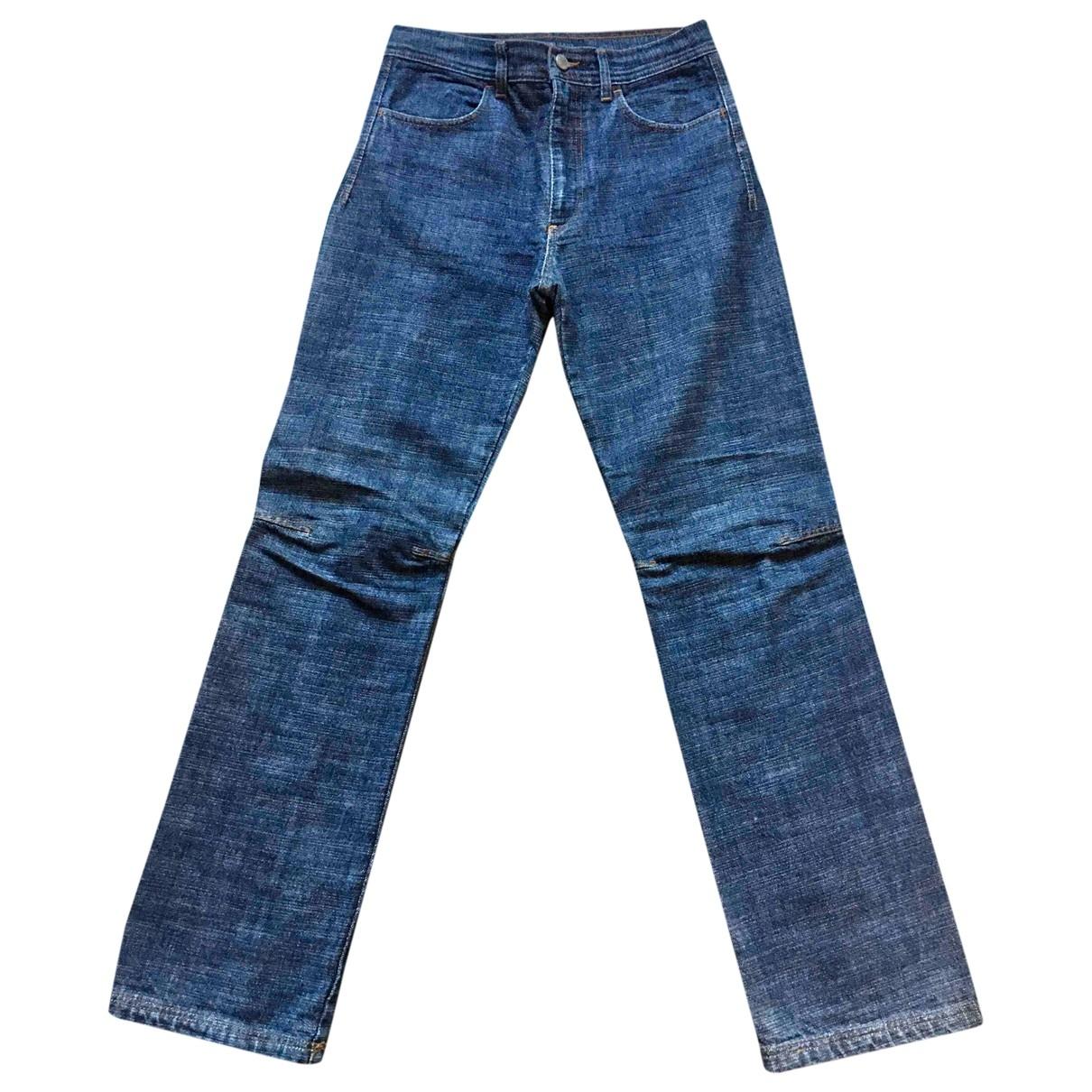 Valentino Garavani \N Blue Cotton Jeans for Men 31 US