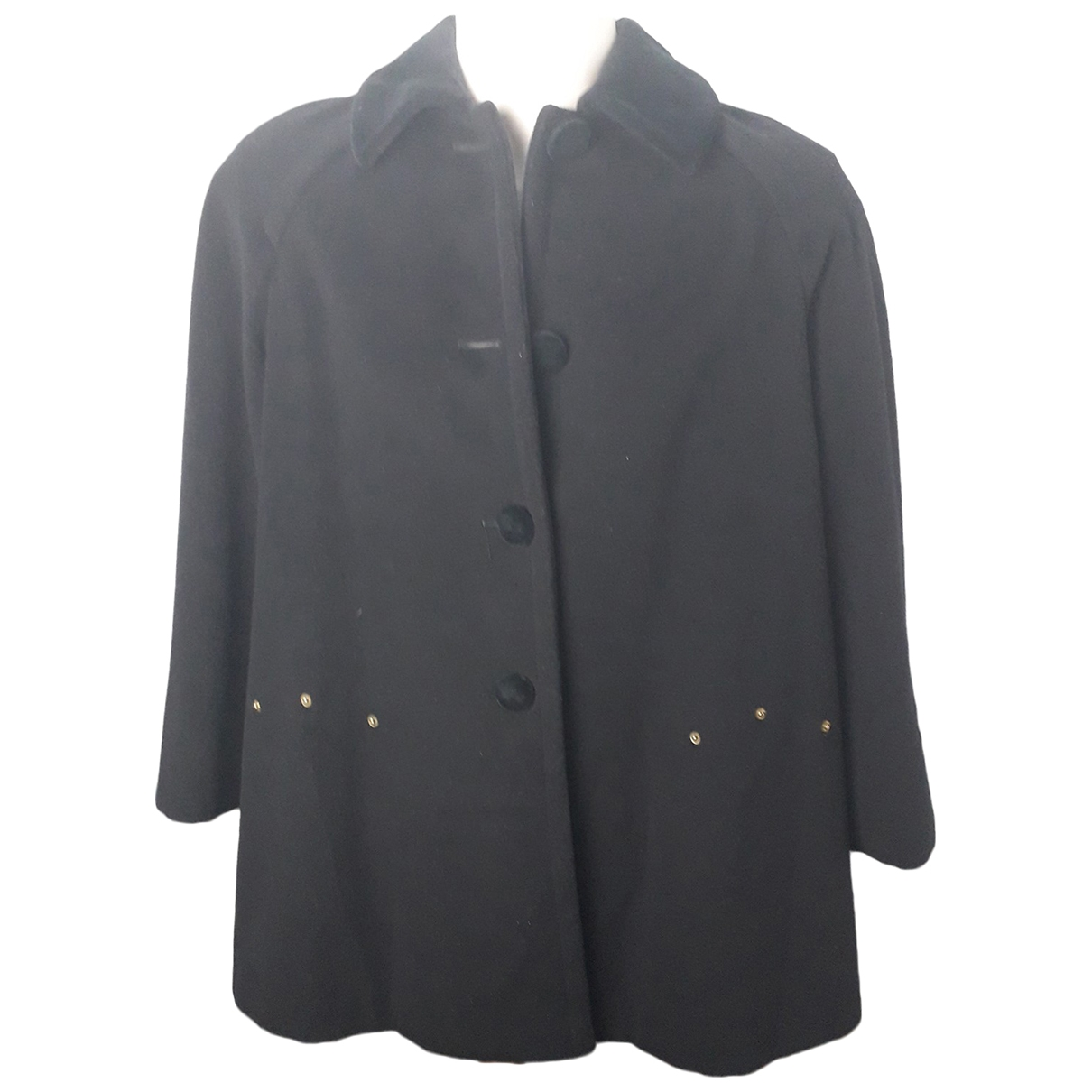 Moschino Cheap And Chic \N Black Wool coat for Women 42 IT