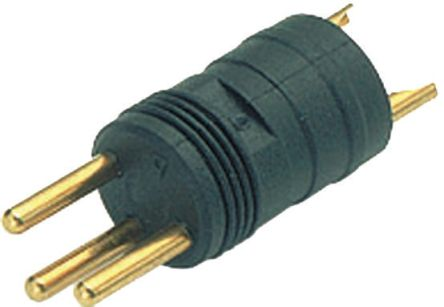 Binder Connector, 3 contacts Cable Mount M8 Plug, Solder IP65, IP67