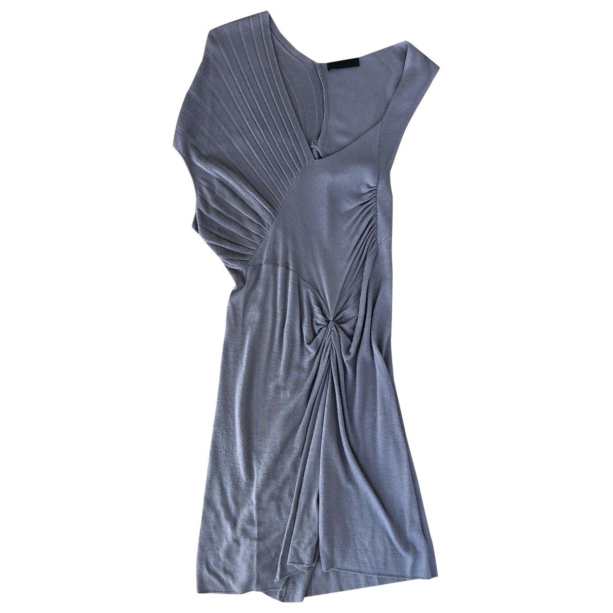 Costume National \N Grey Wool dress for Women L International