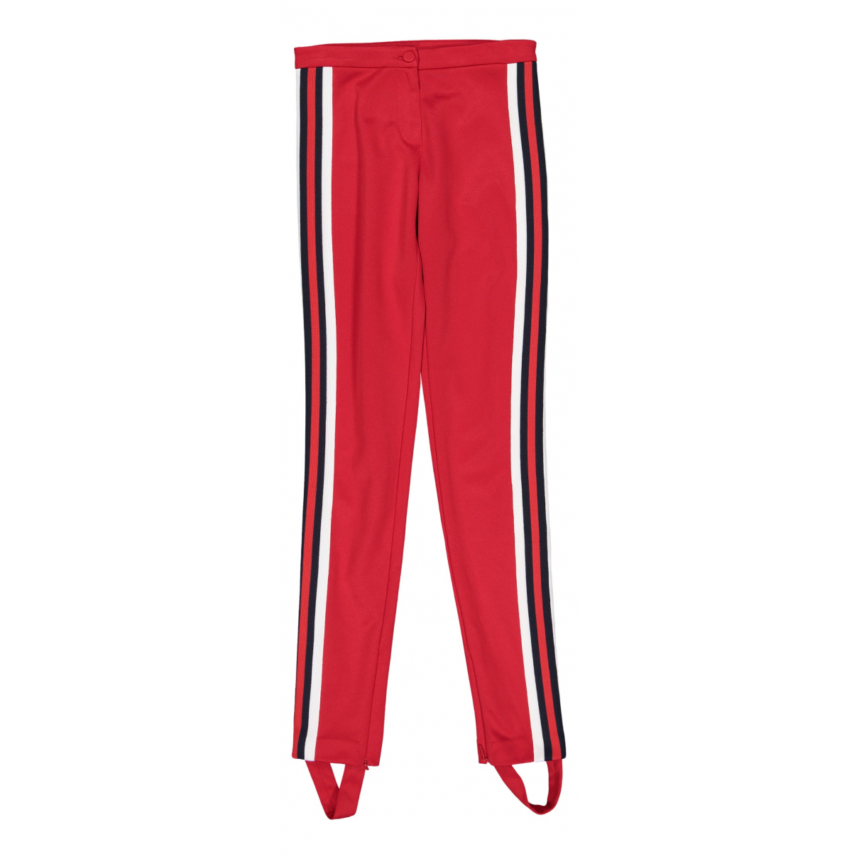 Gucci \N Red Trousers for Women XS International