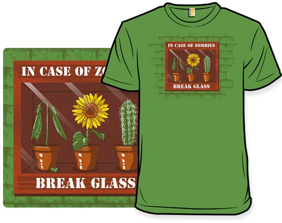 In Case Of Zombies T Shirt