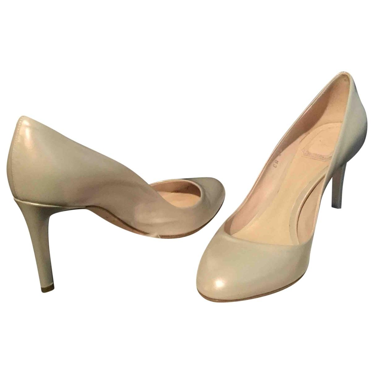 Dior \N Leather Heels for Women 38.5 EU