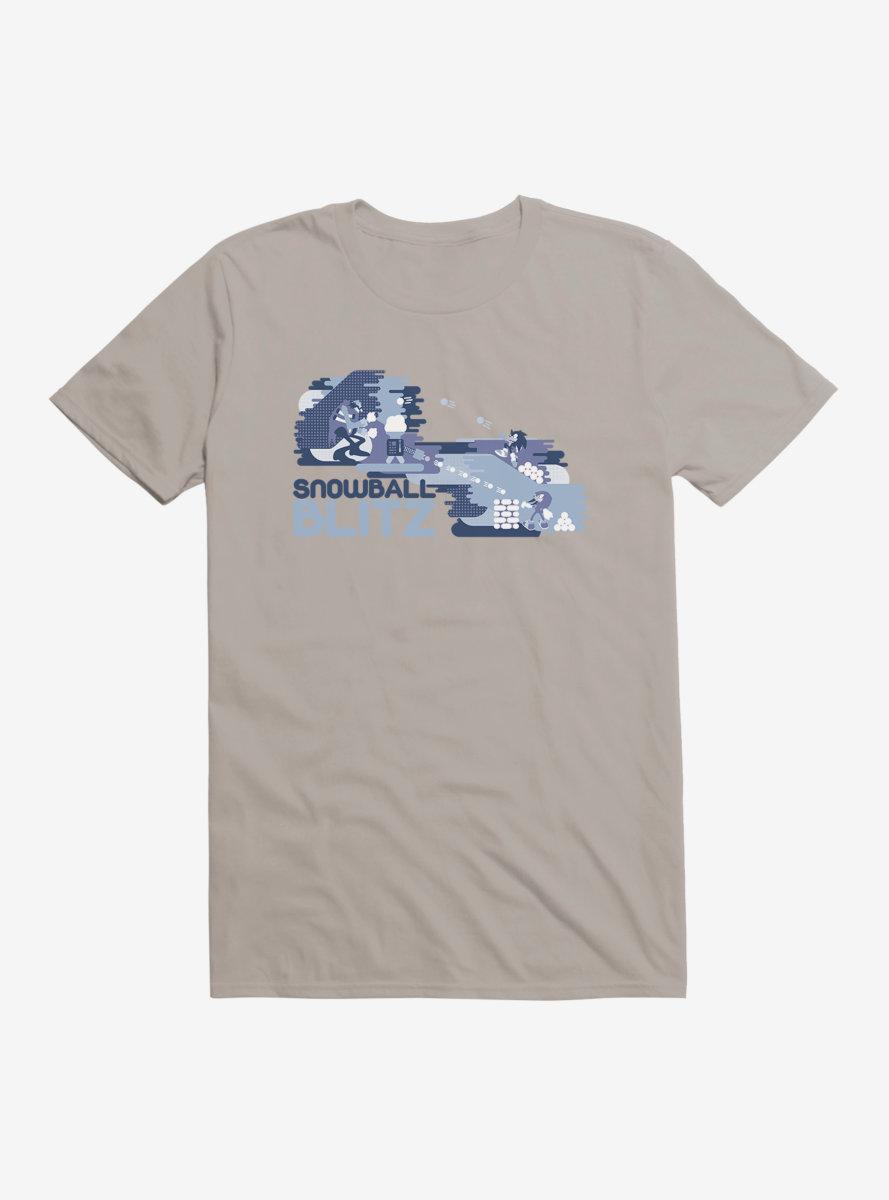 Sonic The Hedgehog Winter Snowball Blitz T-Shirt