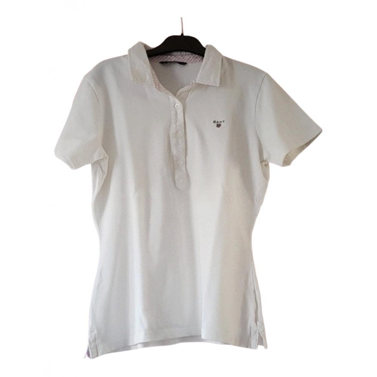 Gant \N White Cotton  top for Women 36 FR