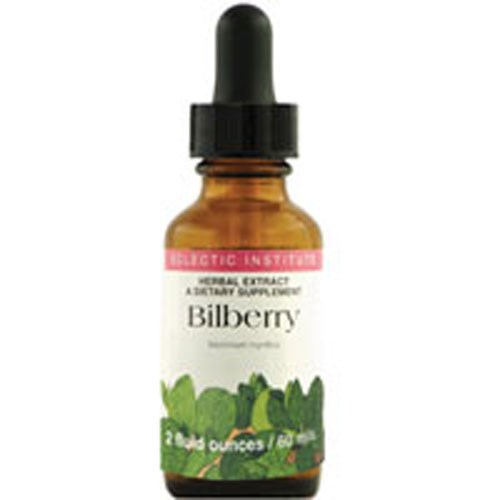Bilberry 2 Oz with Alcohol by Eclectic Institute Inc