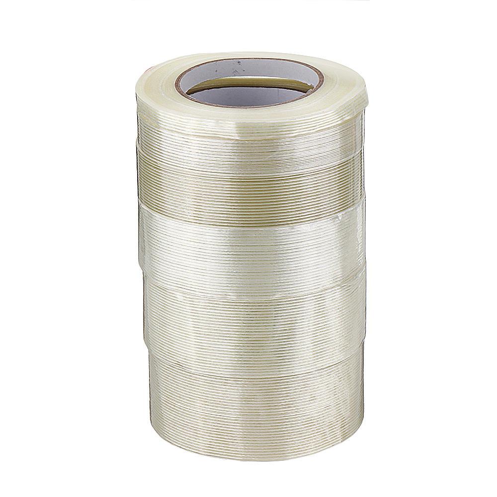 10-50mmX50m High Strength Transparent Fiber Tape Adhesive Tape for RC Model