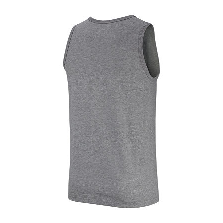 Nike Just Do It Mens Sleeveless Tank Top, Small , Gray
