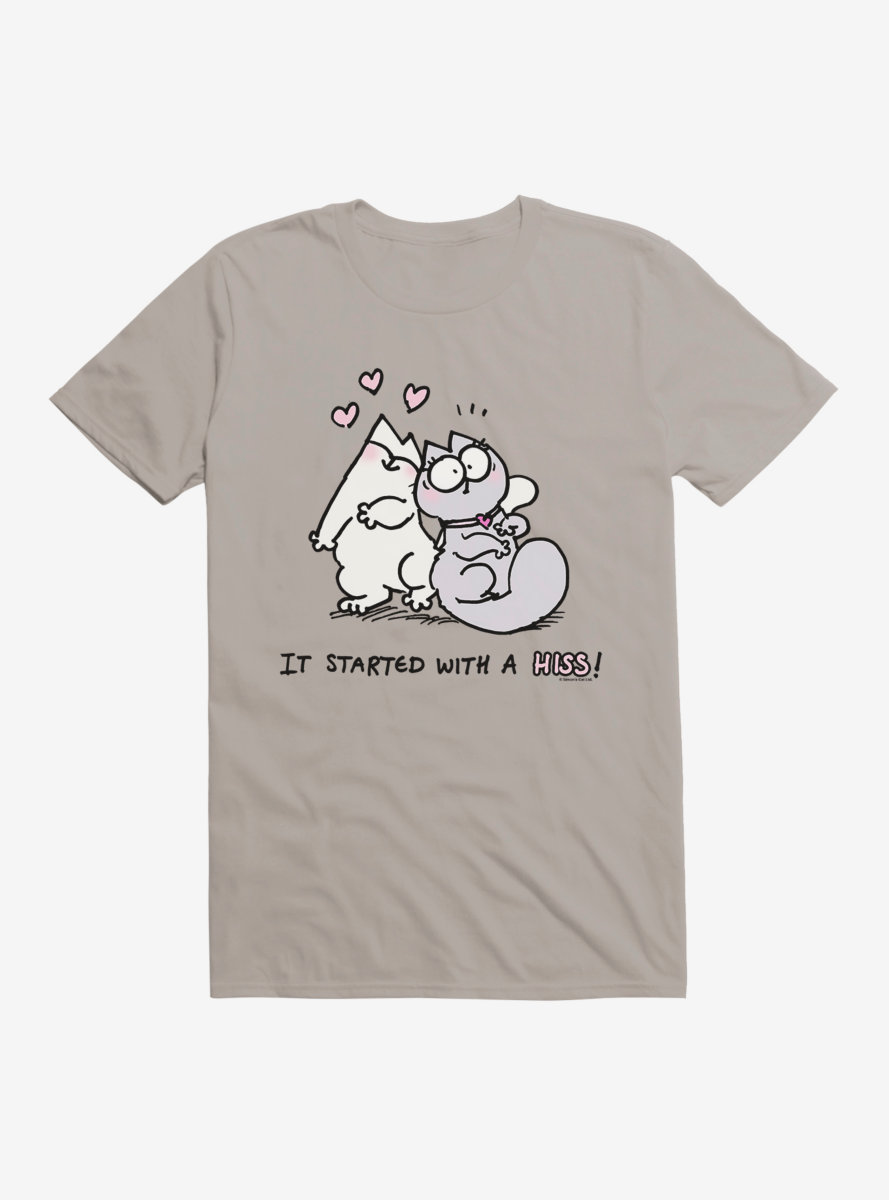 Simon's Cat It Started With A Hiss T-Shirt