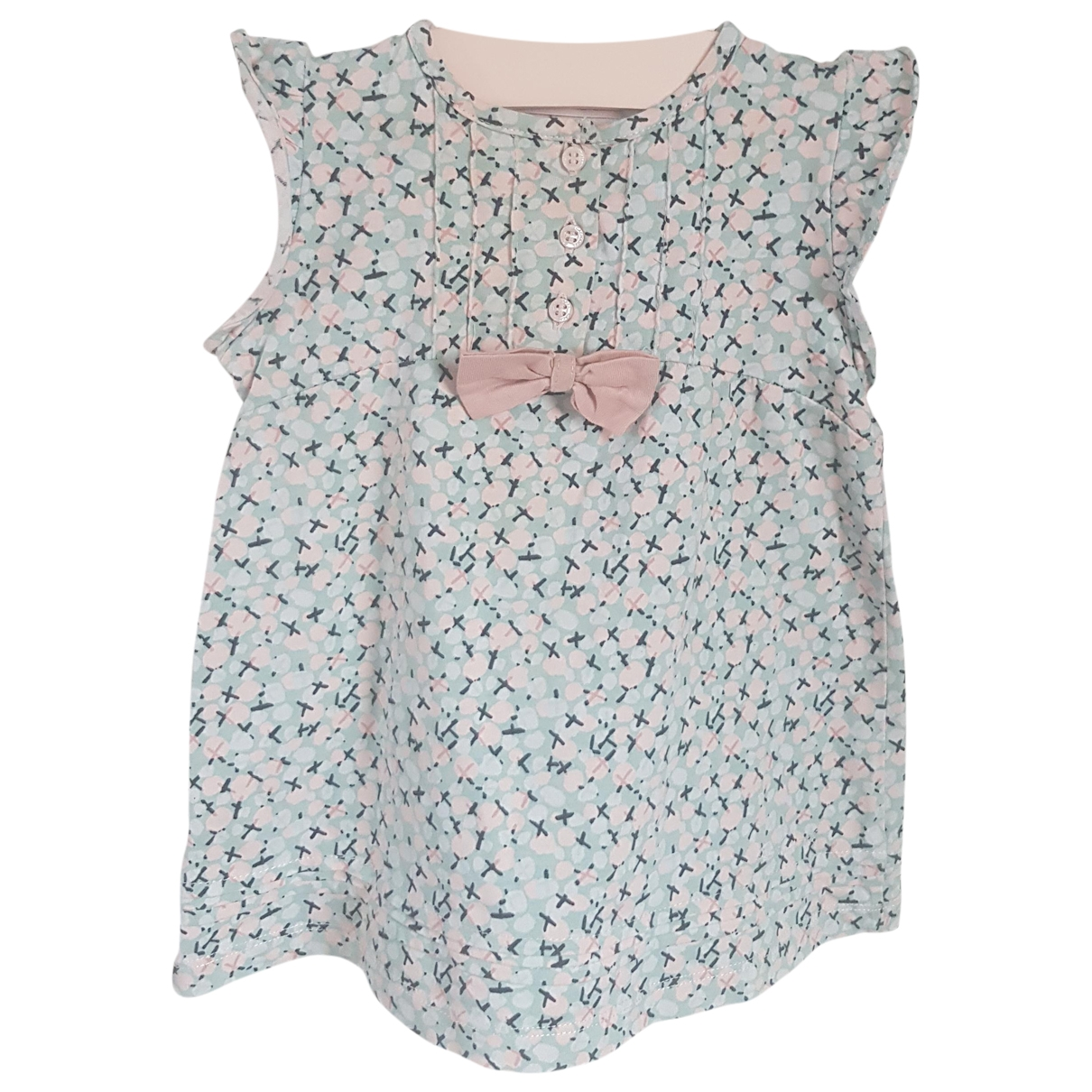Cacharel \N Blue Cotton dress for Kids 6 months - up to 67cm FR