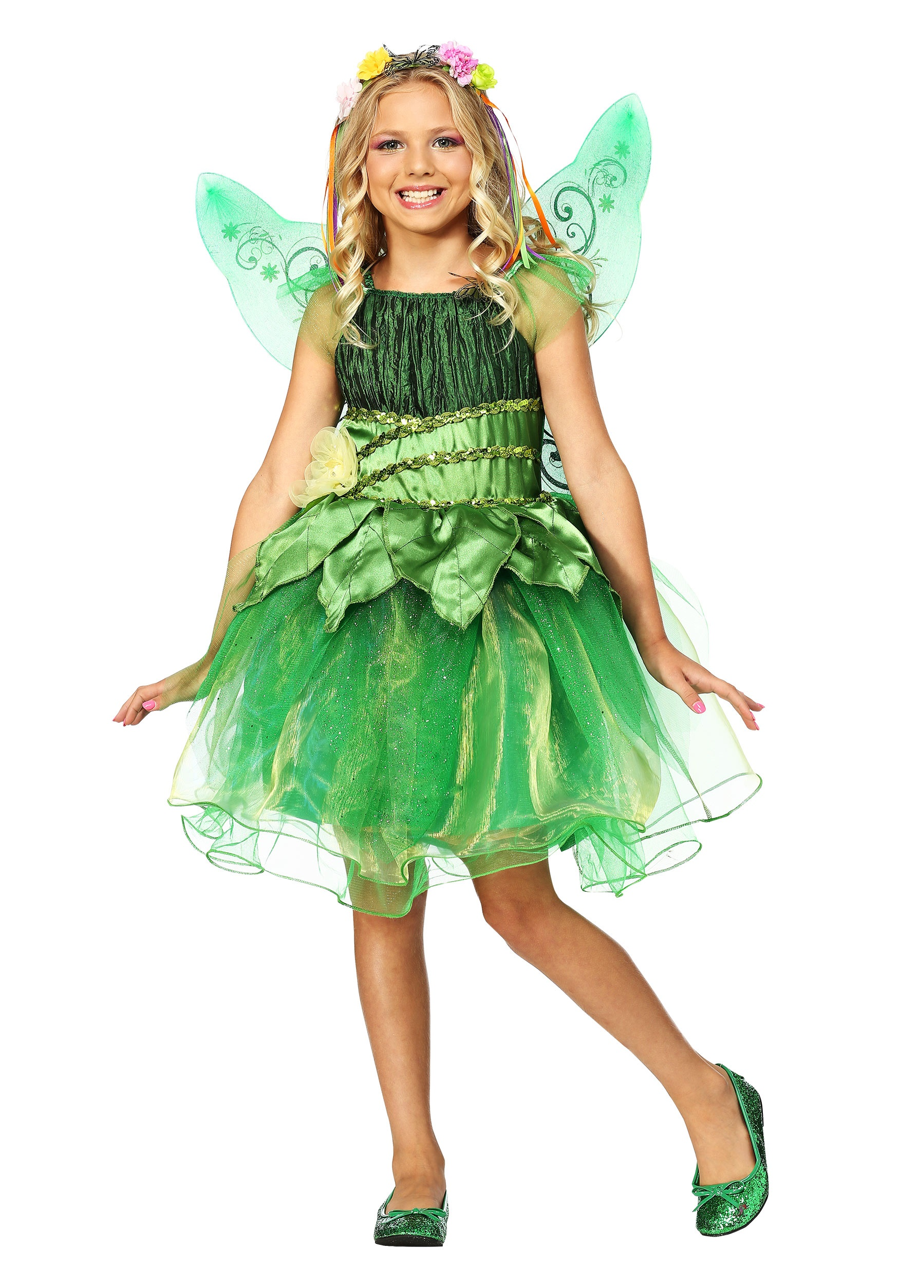 Kids Garden Fairy Costume