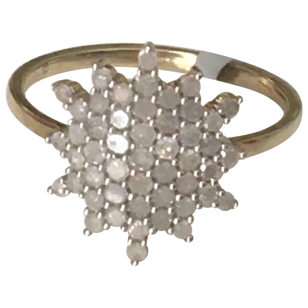 Non Signé / Unsigned Bagues Cocktails Gold Yellow gold ring for Women 56 EU