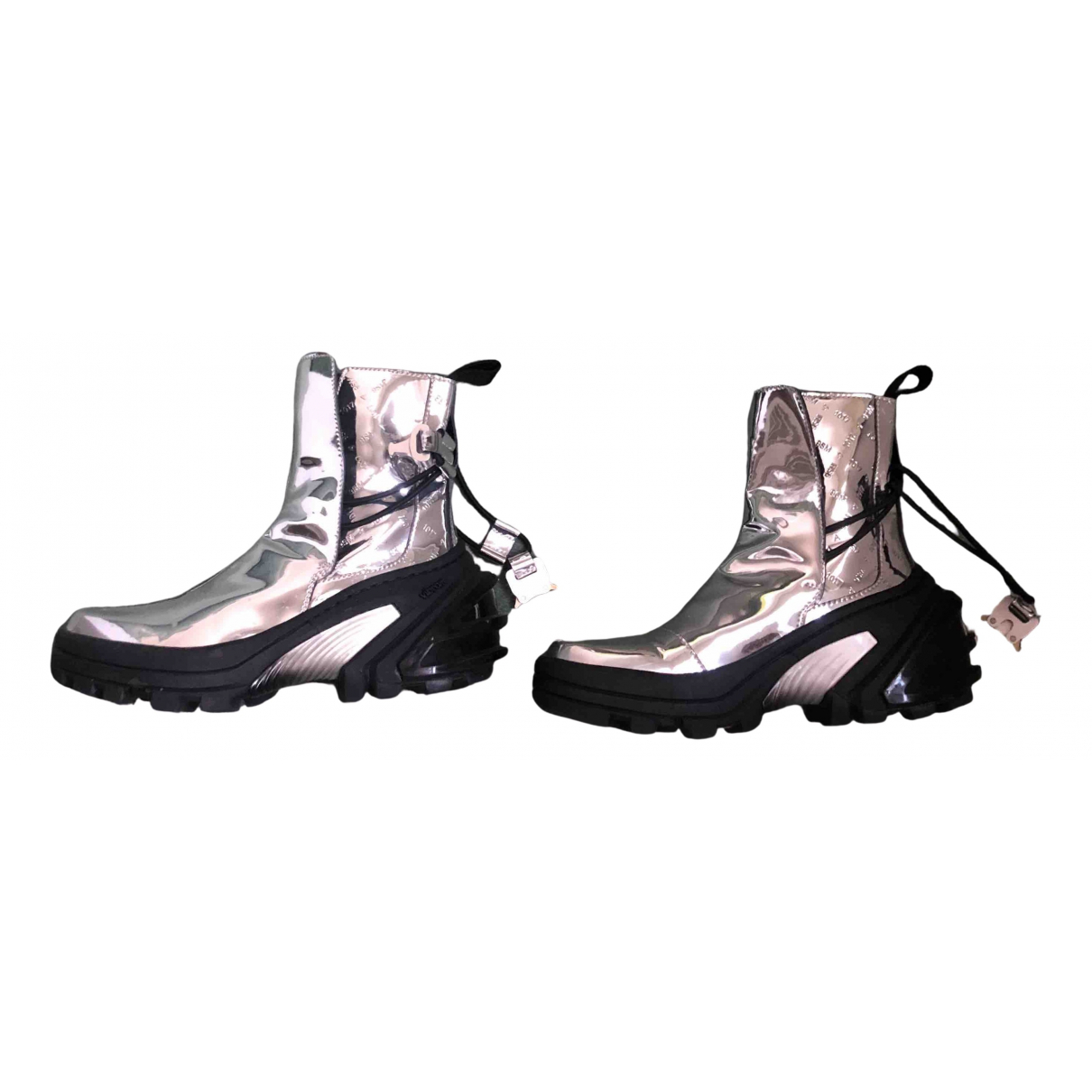 Alyx \N Silver Patent leather Trainers for Women 37 EU
