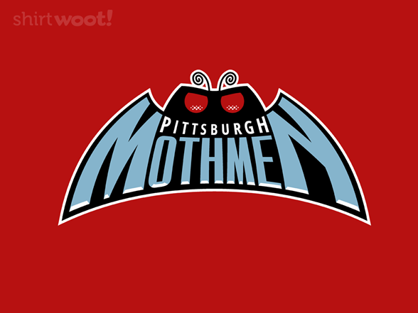 Pittsburgh Mothmen T Shirt