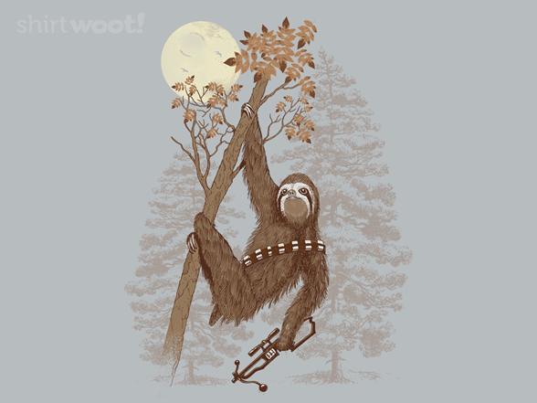 Sloth Wars T Shirt