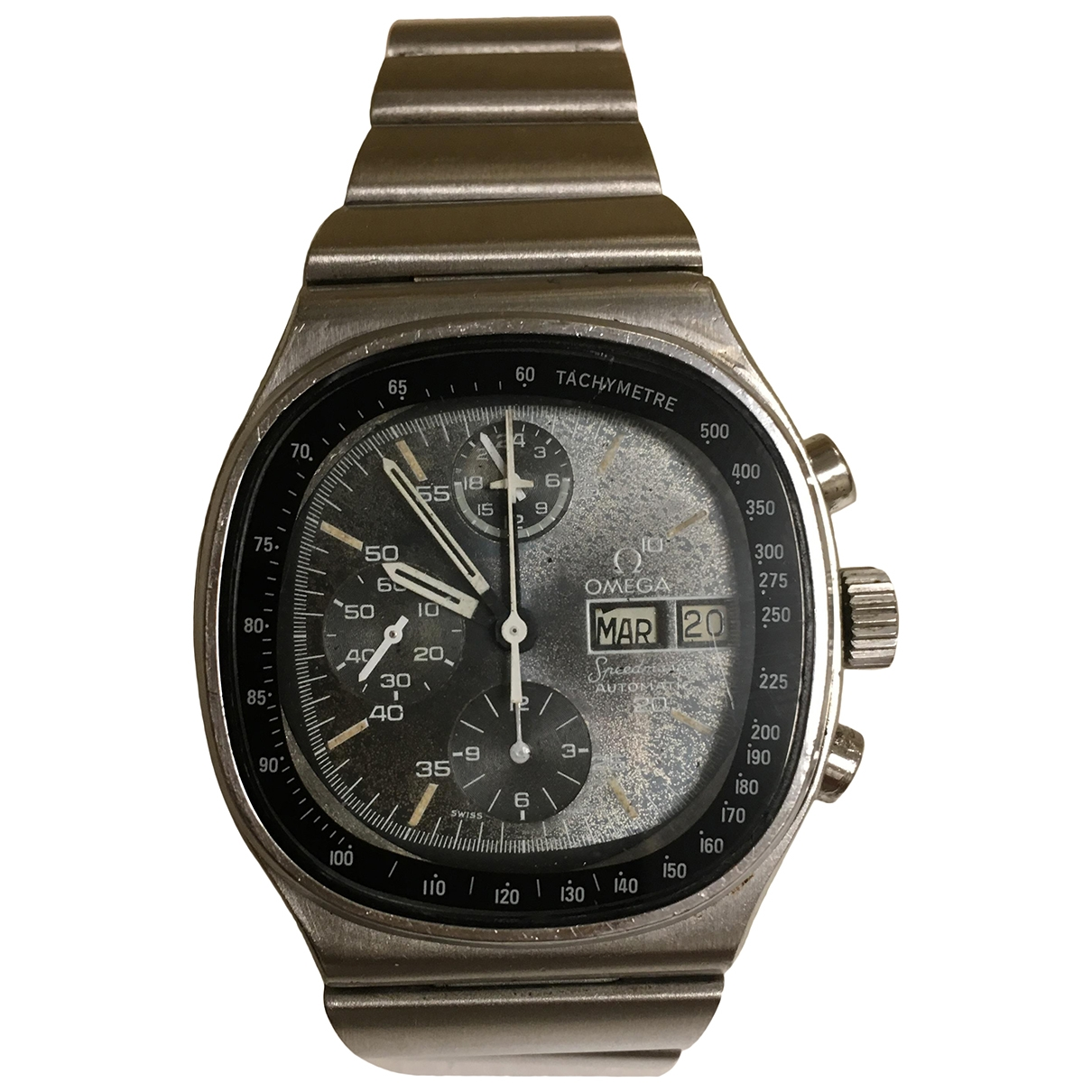 Omega Speedmaster Black Steel watch for Men \N
