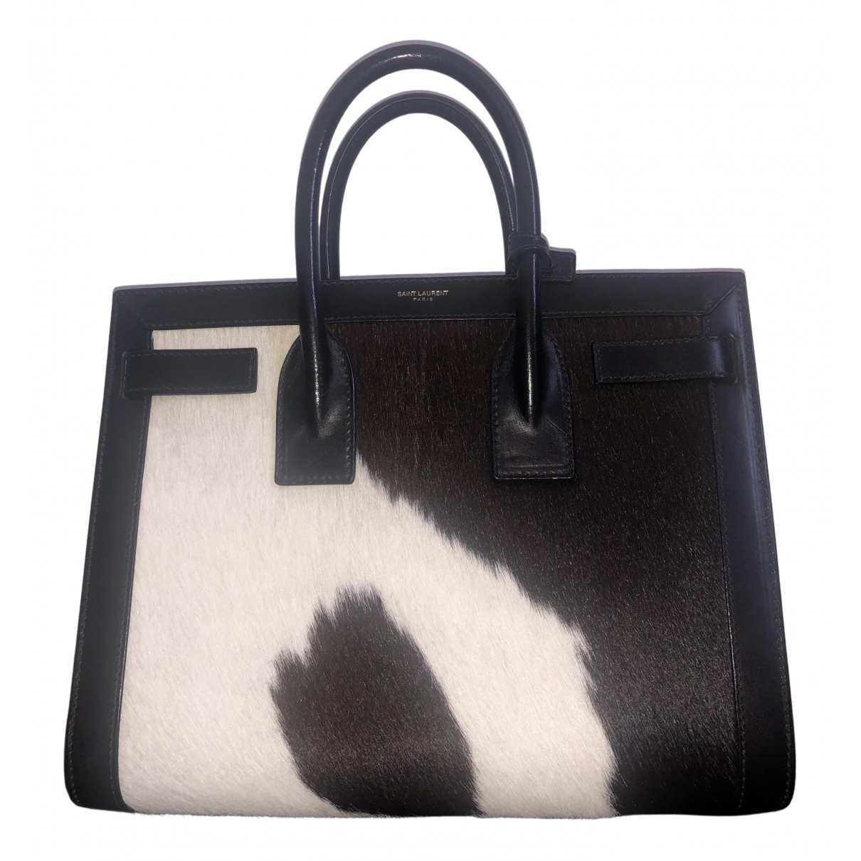 Saint Laurent Sac de Jour Multicolour Pony-style calfskin handbag for Women \N