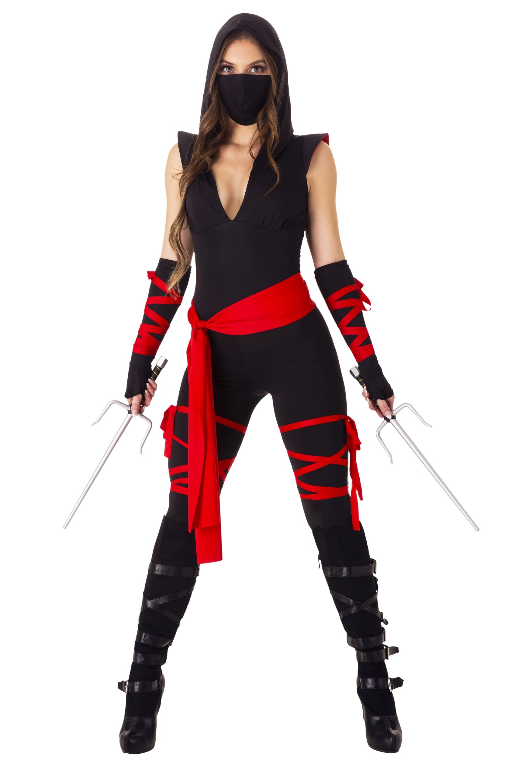 Sexy Deadly Ninja Costume for Women