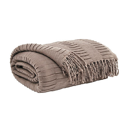 Signature Design by Ashley Mendez Midweight Throw, One Size , Beige