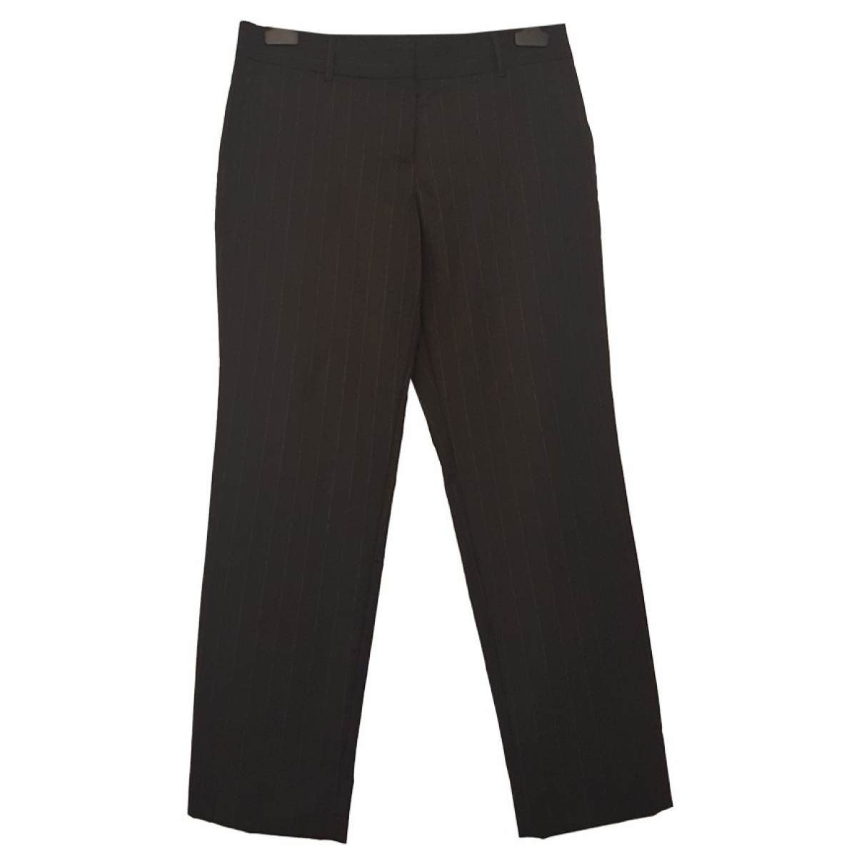 Dolce & Gabbana \N Black Wool Trousers for Women 44 IT