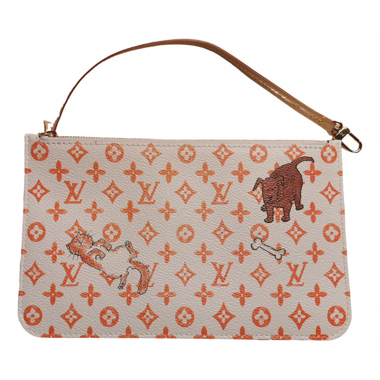 Louis Vuitton \N White Cloth Clutch bag for Women \N