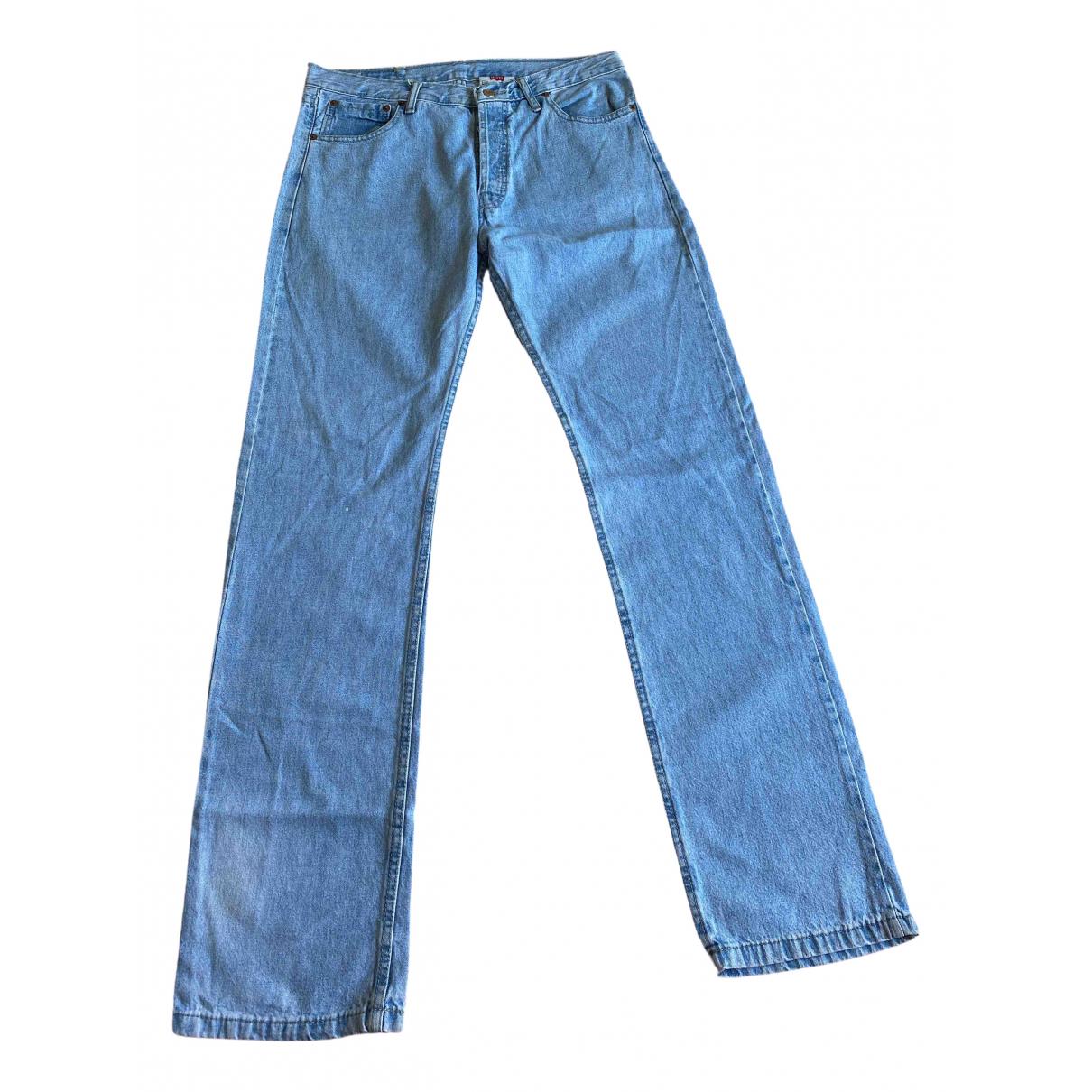 Levi's Vintage Clothing \N Blue Denim - Jeans Jeans for Women 33 US