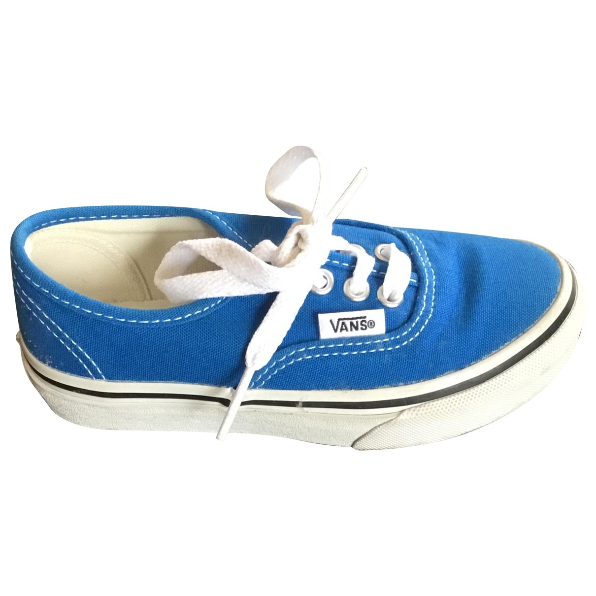 Vans \N Turquoise Cloth Trainers for Kids 27 EU