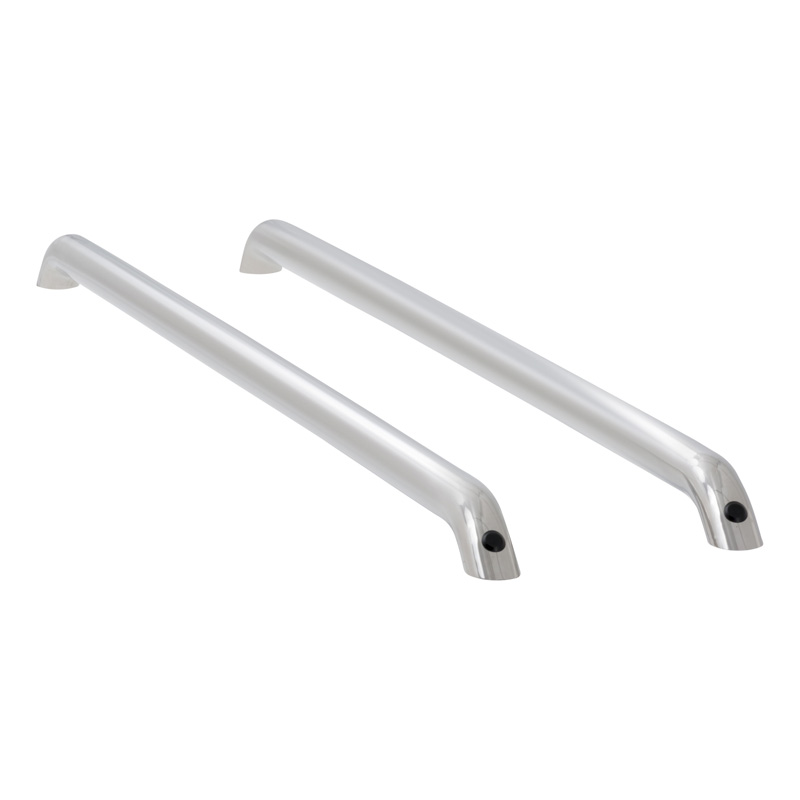 Luverne 510090 Polished Stainless Stainless Steel Stainless Steel Tubular Bed Rails