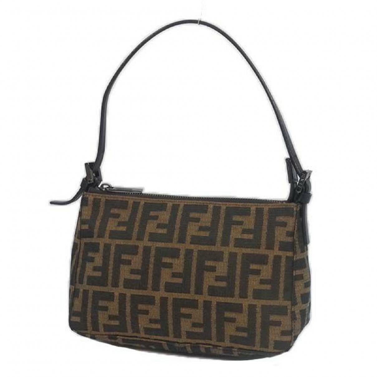 Fendi \N Brown Cloth Purses, wallet & cases for Women \N