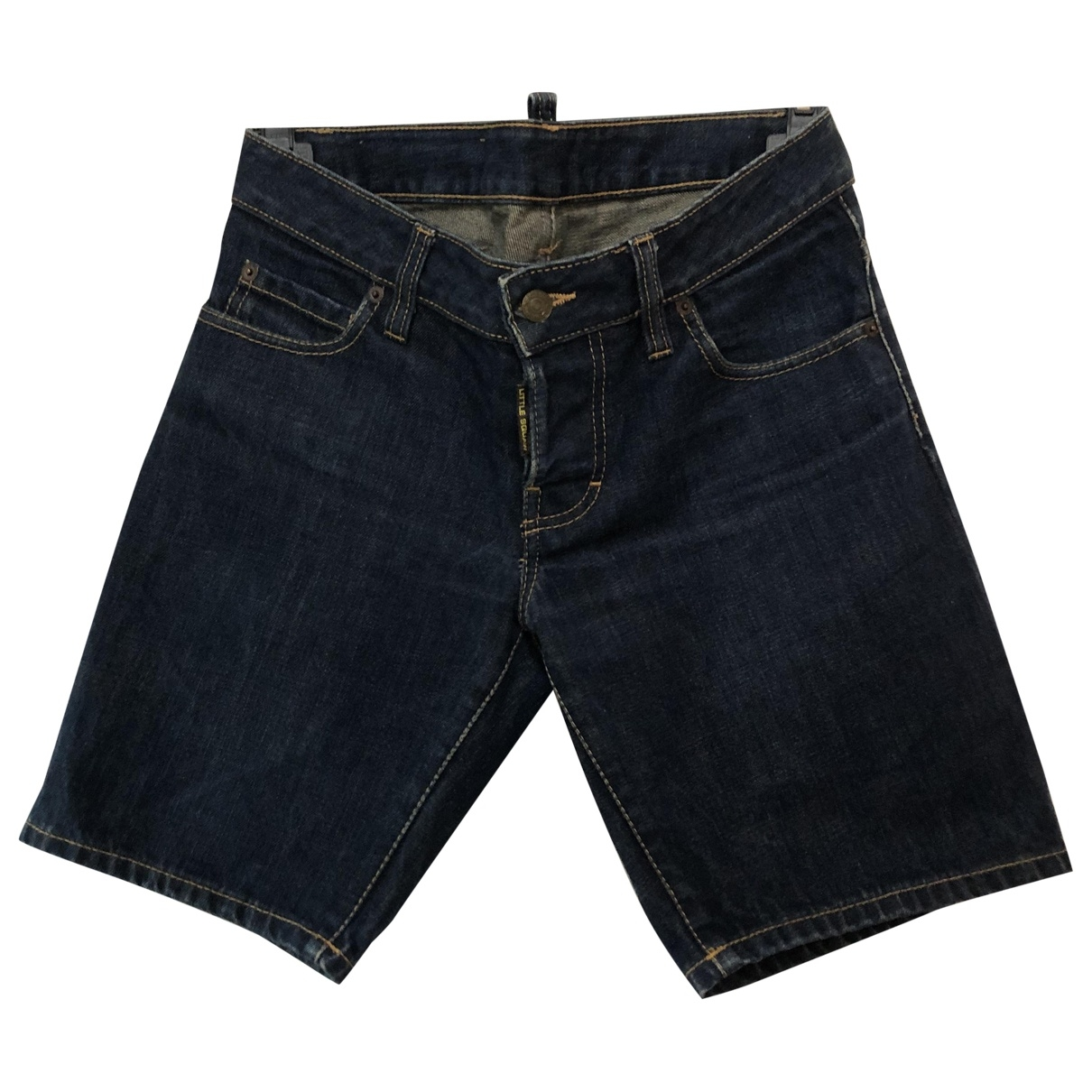Dsquared2 \N Blue Denim - Jeans Shorts for Women 40 IT