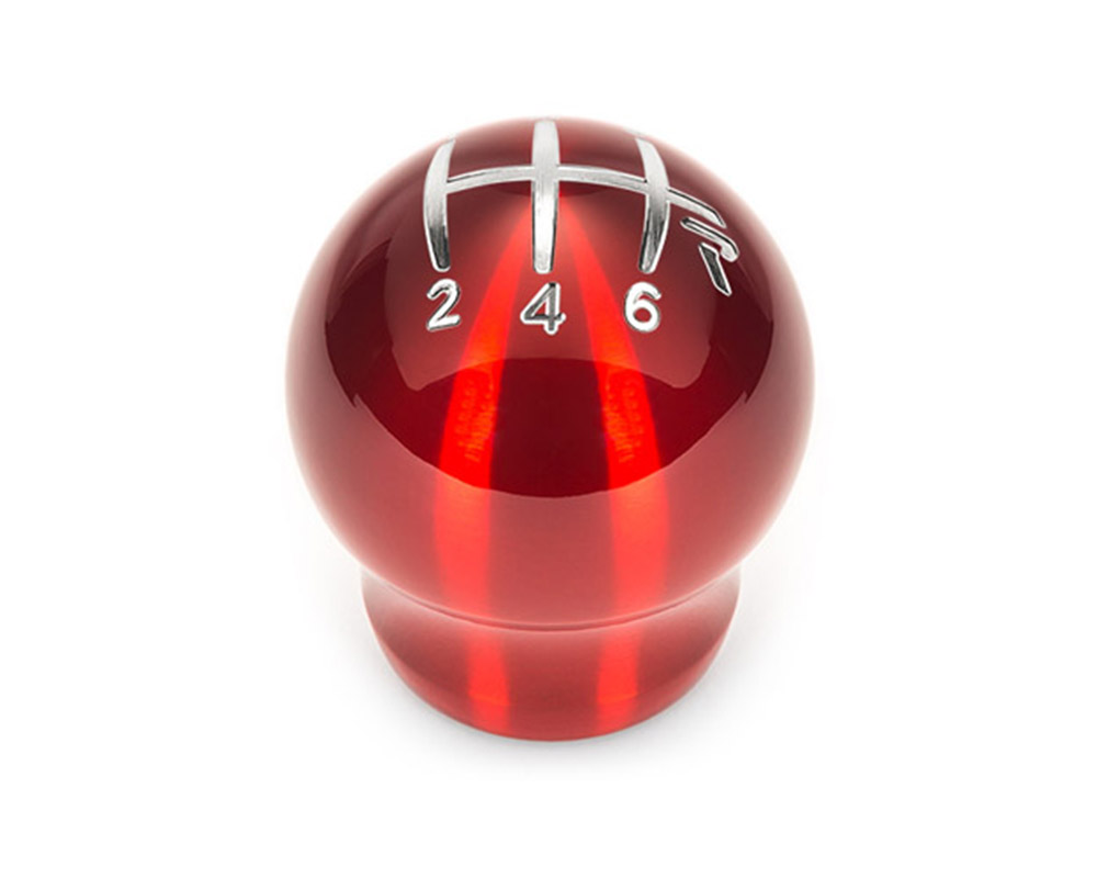 Raceseng 08231RT3 Contour - Red Translucent - Gate 3 Engraving
