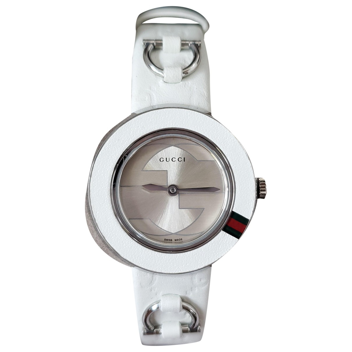 Gucci \N White Steel watch for Women \N