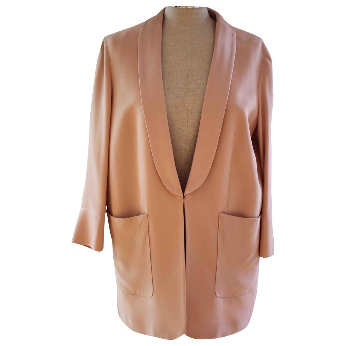 Twin Set \N Pink jacket for Women 38 FR