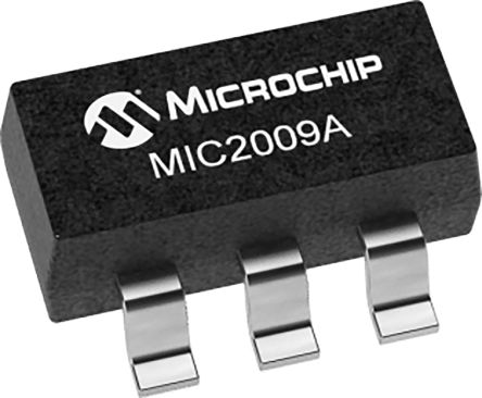 Microchip MIC2009A-1YM6-TR, 1 Power Control Switch, Adjustable Current Limiting Power Diostribution Switch 6-Pin, SOT-23 (3000)